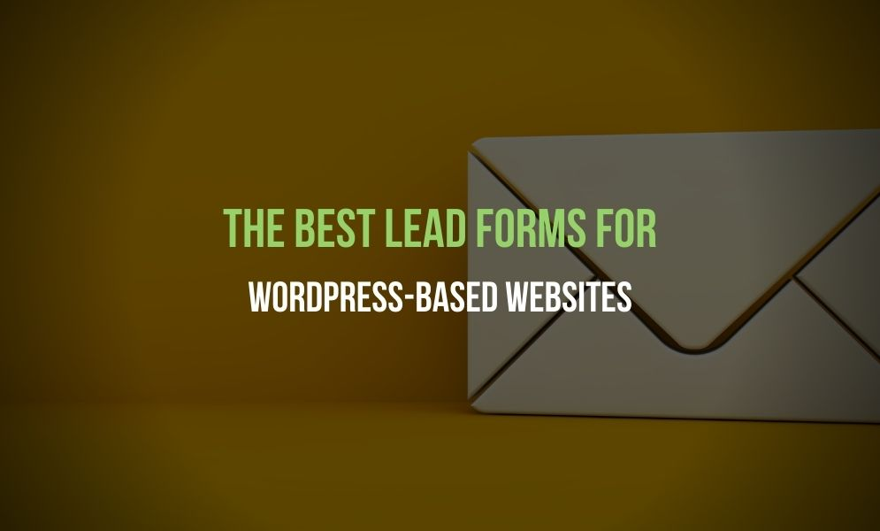 If you want the best lead forms for your WordPress websites then you can contact the Adelaide website design specialists of Marketing Sweet.