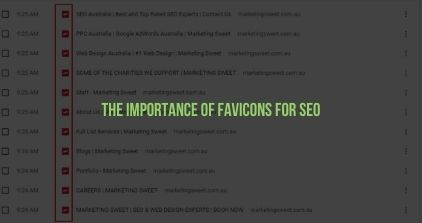 The Importance of Favicons for SEO